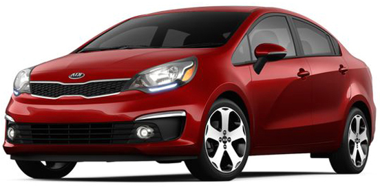 Kia Rio 2016 - Yes Sure Car Rental